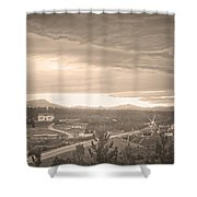 Old Rollinsville Colorado Shower Curtain