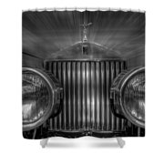 Old Rolls Shower Curtain