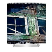 Old Salt Window Shower Curtain