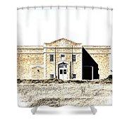 Old School II Shower Curtain