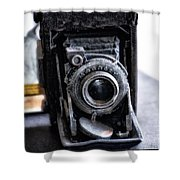 Old School Photography Shower Curtain