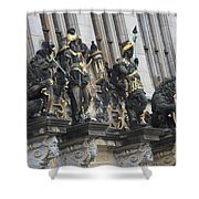 Old Sculptures Shower Curtain