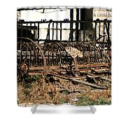 Old Sharecropper Shower Curtain