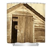Old Shed Shower Curtain