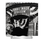 Old Shibe Park - Connie Mack Stadium Shower Curtain