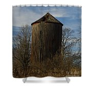 Old Silo Shower Curtain