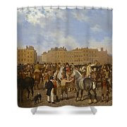 Old Smithfield Market Shower Curtain