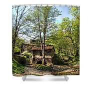 Old Smithy No1 Shower Curtain