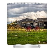 Old Sod Home Shower Curtain