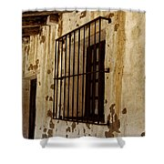 Old Spanish Mission Shower Curtain