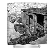 Old Spring House Shower Curtain