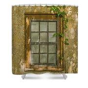 Old St Augustine Window Shower Curtain