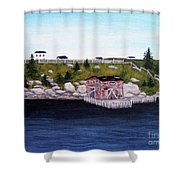 Old Stage And Storeloft Shower Curtain