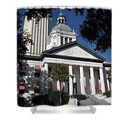Old State Capitol - Florida Shower Curtain