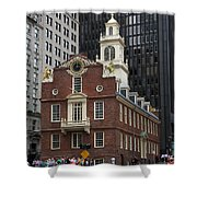 Old State House - Boston Shower Curtain