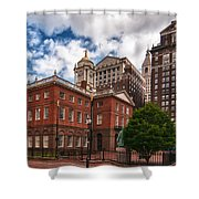 Old State House Shower Curtain