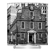 Old State House In Boston Shower Curtain