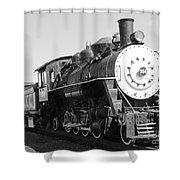 Old Steam Engine Shower Curtain