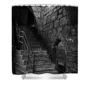 Old Steps In Chester England Shower Curtain