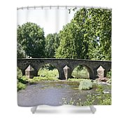 Old Stone Arch Bridge Shower Curtain