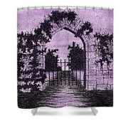 Old Stone Archway  Shower Curtain