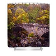 Old Stone Bridge. Scotland Shower Curtain
