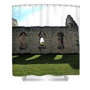 Old Stone Church 3 Shower Curtain