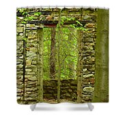 Old Stone House Shower Curtain