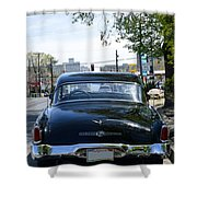 Old Studebaker  Shower Curtain