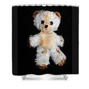 Old Teddy Bear Pepi Shower Curtain