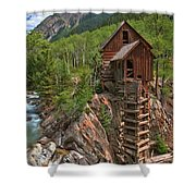 Old Time Colorado Shower Curtain