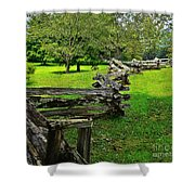 Old Time Tradition Shower Curtain