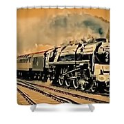 Old Timer T Shower Curtain