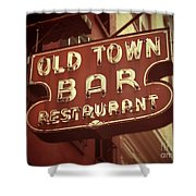 Old Town Bar - New York Shower Curtain