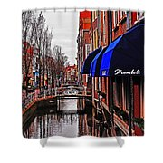 Old Town Delft Shower Curtain