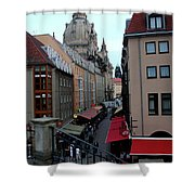 Old Town Dresden Shower Curtain