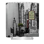 Old Town Hall Shower Curtain
