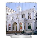 Old Town House Shower Curtain