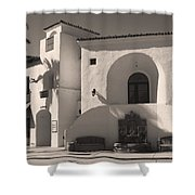 Old Town Shower Curtain by Laurie Search