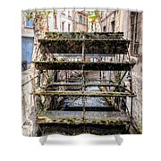 Old Town Mill Shower Curtain