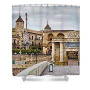Old Town Of Cordoba In Spain Shower Curtain