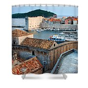 Old Town Of Dubrovnik Shower Curtain