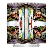 Old Town Stories Art 1 Shower Curtain