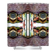 Old Town Stories Art 3 Shower Curtain