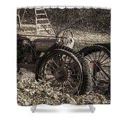 Old Tractor Shower Curtain by Lynn Geoffroy