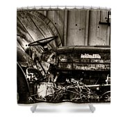 Old Tractor - Series Xv Shower Curtain