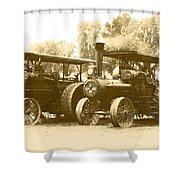 Old Tractors Shower Curtain