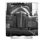 Old Truck Grill Shower Curtain