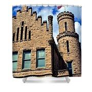Old Vanderburgh County Jail Shower Curtain
