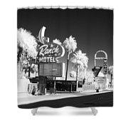 Old Vegas Shower Curtain
